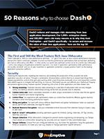 Image of 50 reasons to choose DashO image