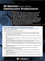 Image of 50 reasons to choose Dotfuscator image